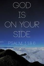 God is on your site