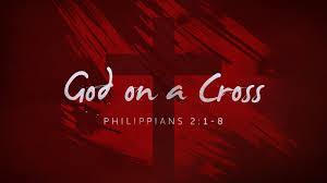 God on the cross