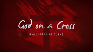 God on the cross