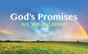 God promise are yea